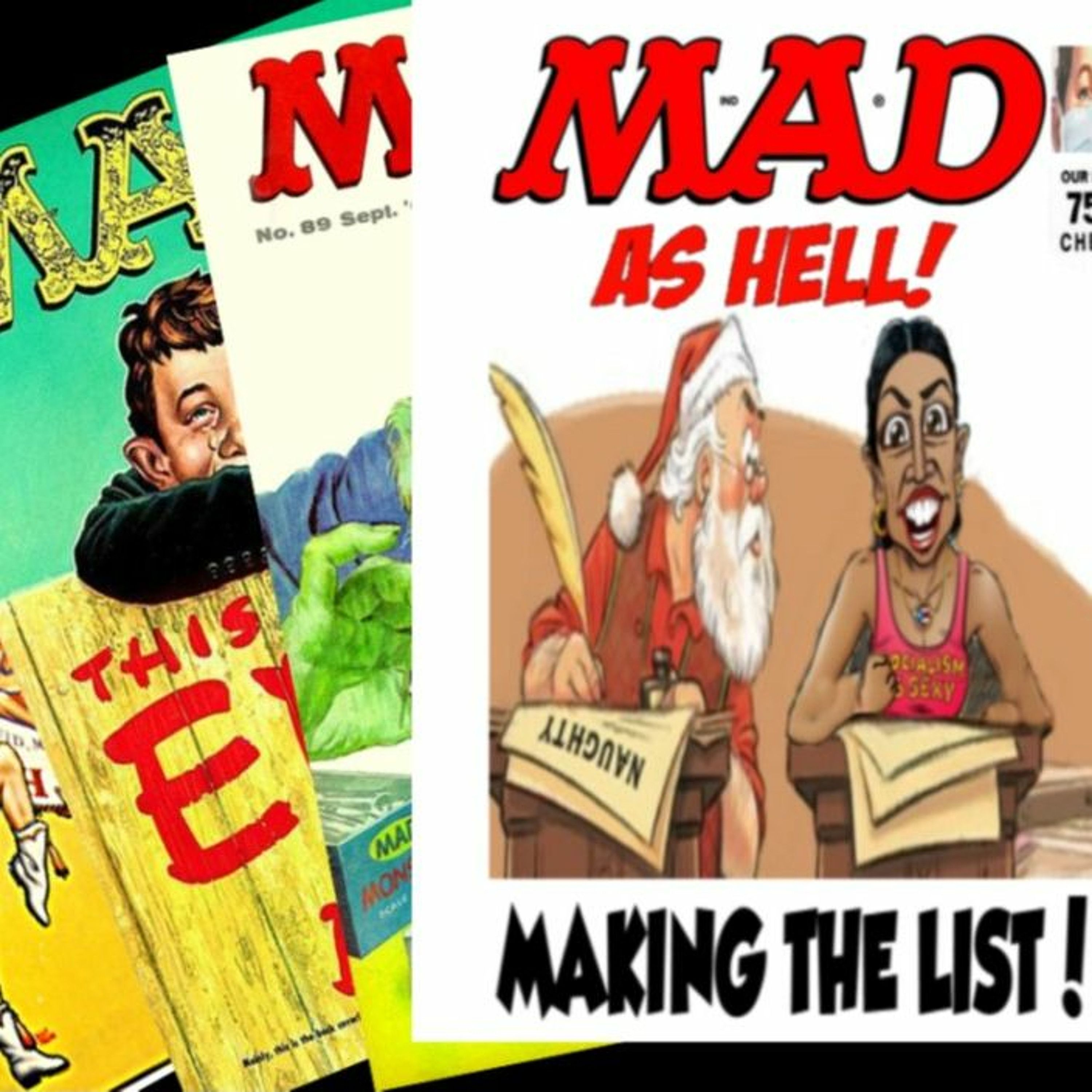 Show sample for 11/10/20: MAD AS HELL - MAKING THE LIST