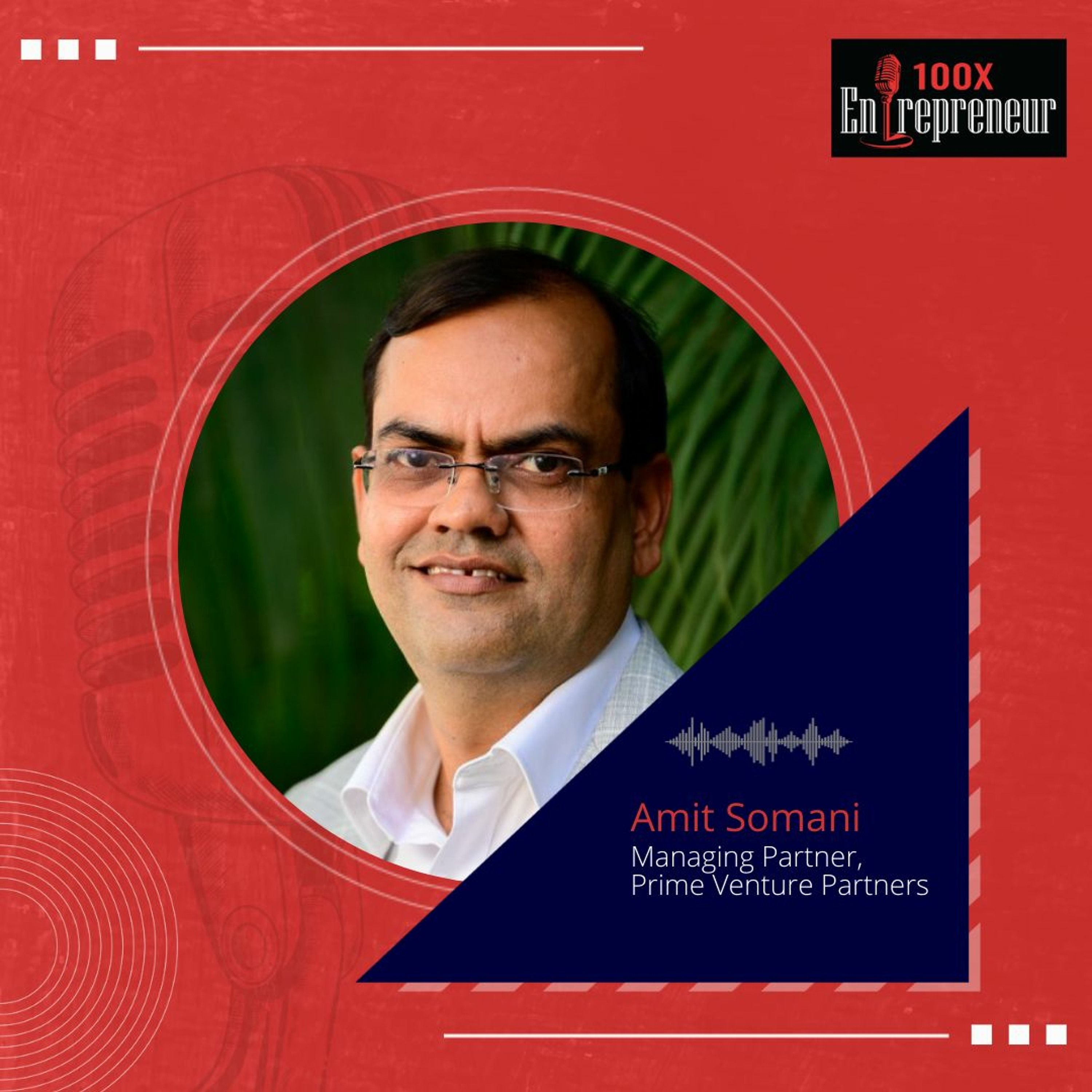 Behind The Scenes: Making of Prime Ventures podcast & 100x Entrepreneur podcast with Amit Somani