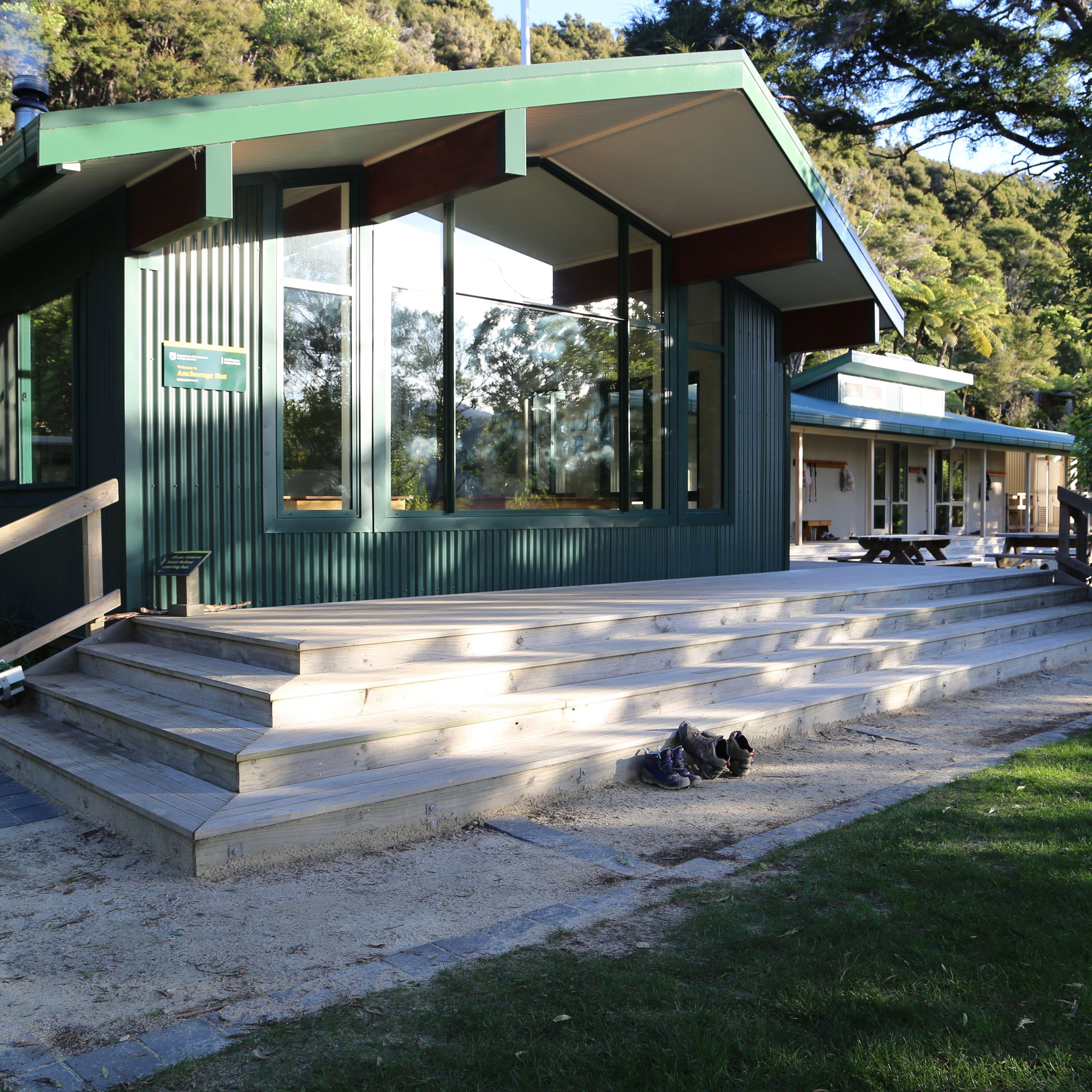 Hut Life: Anchorage Hut in Abel Tasman National Park