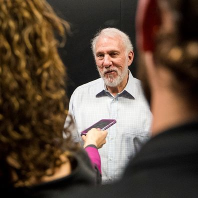Gregg Popovich pregame comments on Spurs players only meeting