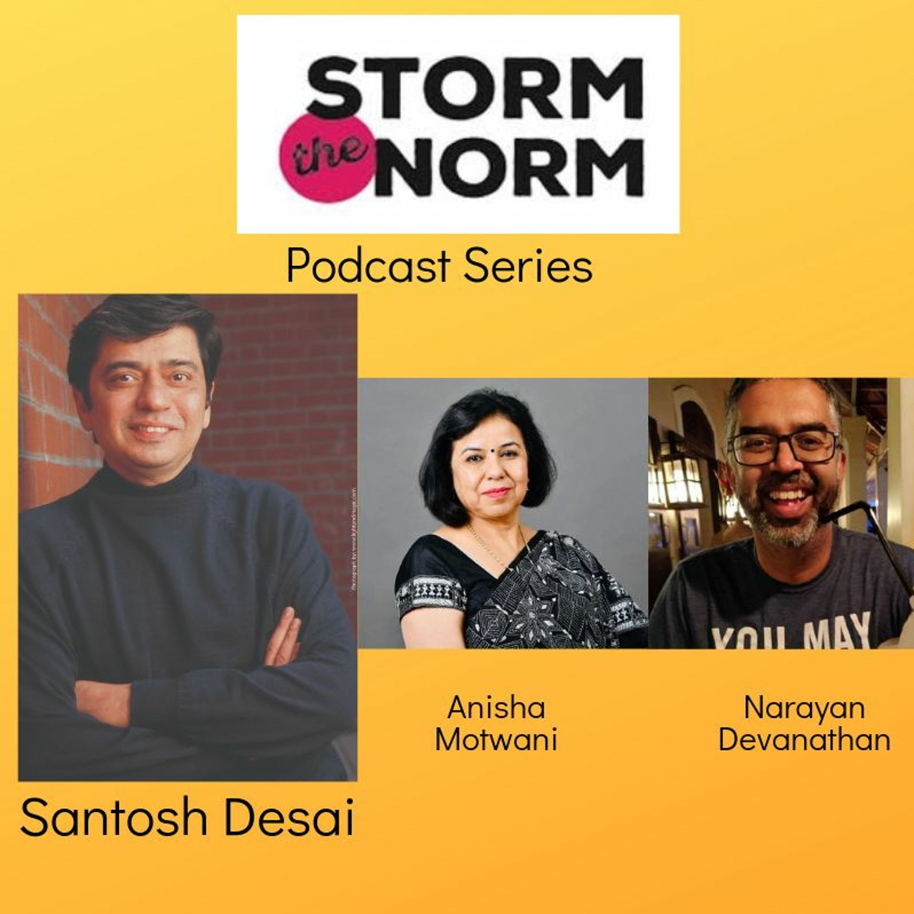STN EP - 04 : Innovation comes from exploring the edges, outliers & extremities.