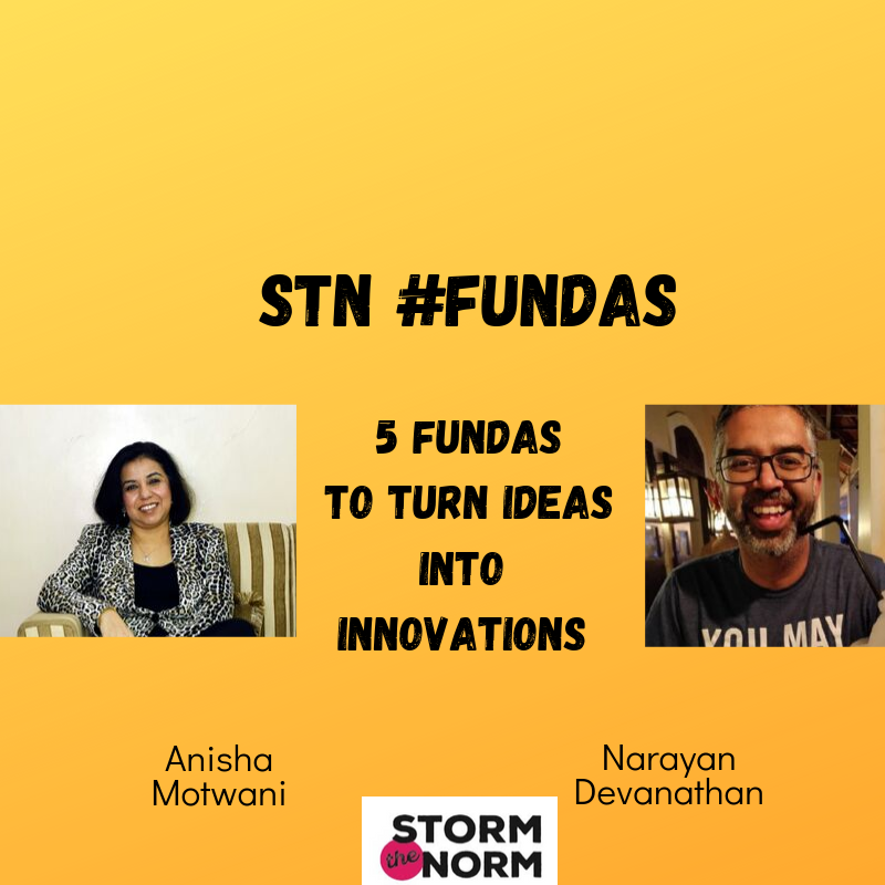 EP 05a :Five STN Fundas to transform your IDEAS INTO INNOVATION