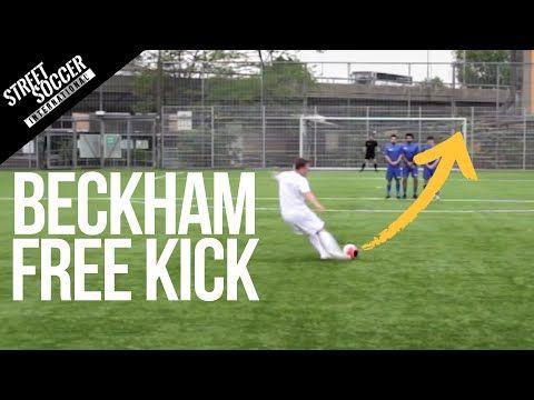 足球教學 — 如何射出碧咸式自由球:理論篇