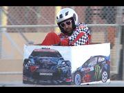 Ken Box 的瘋狂紙箱賽車,駕駛技術絕對讓你驚訝