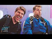 一萬五千英尺高空跳傘小兒科?Tom Cruise帶James Corden 跳一次!