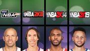 歷代 NBA 2K 遊戲中能力值最高的控球後衛,有一位達到了 99 分
