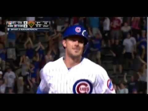 [MLB] Kris Bryant打出首支再見安打,Cubs一分反勝Rockies!
