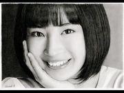 日本鉛筆神手畫家又有新作,今次是人氣女星廣瀨鈴!