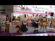 電視記者沒拍到的獨家畫面!熊貓妹跳小蘋果不得不看!太可愛了!