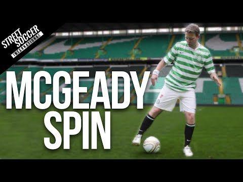足球教學 — 如何做出麥基迪式控球轉向