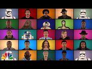 看看《星球大戰:原力覺醒》群星和Jimmy Fallon以A Cappella形式歌唱經典...