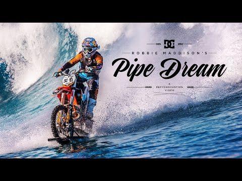 澳洲車手,用越野電單車來滑浪!