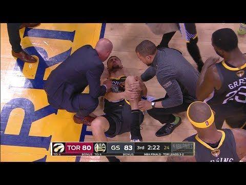Klay Thompson證實遭遇左膝前十字韌帶撕裂