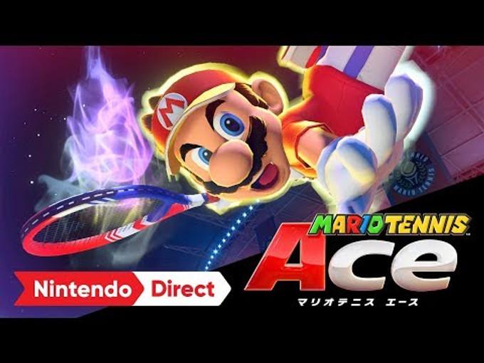 [減肥神器] 打到你拍都斷,Mario Tennis Ace 6/22推出!