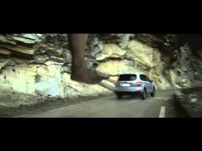 超真實!! 進擊的巨人X汽車 真人版廣告!!