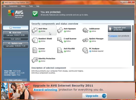 AVG Anti-Virus Free Edition 2011