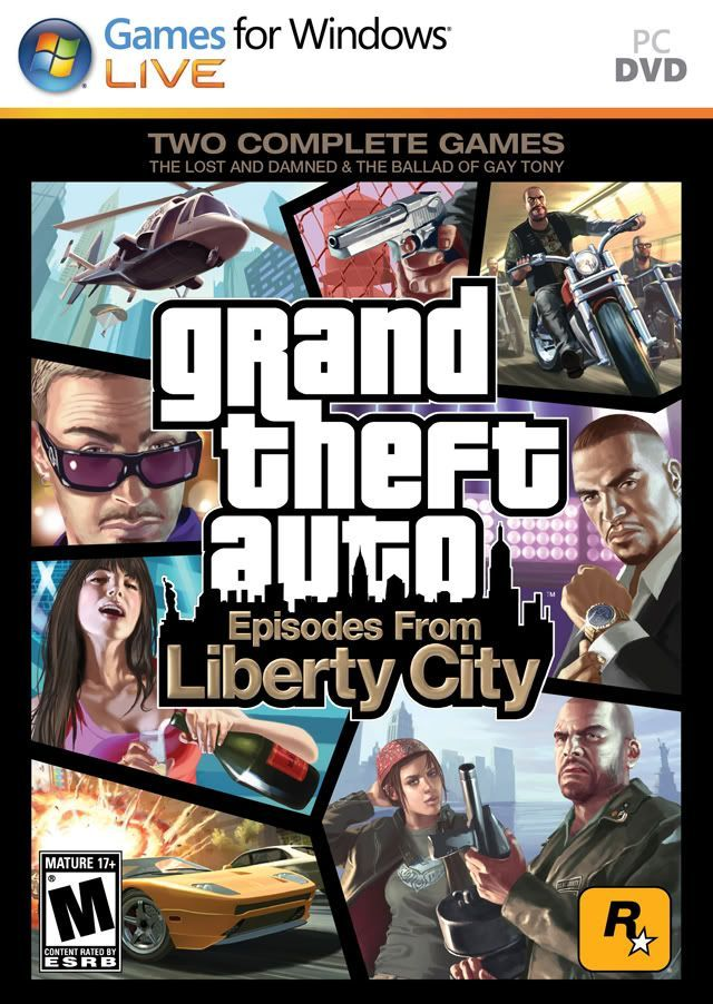 GTA 4: Episodes From Liberty City (2010)