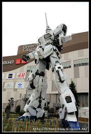 Day 4(1) 台場2017。1:1獨角獸高達/RX-0 Gundam Unicorn- 日光篇。附變型...