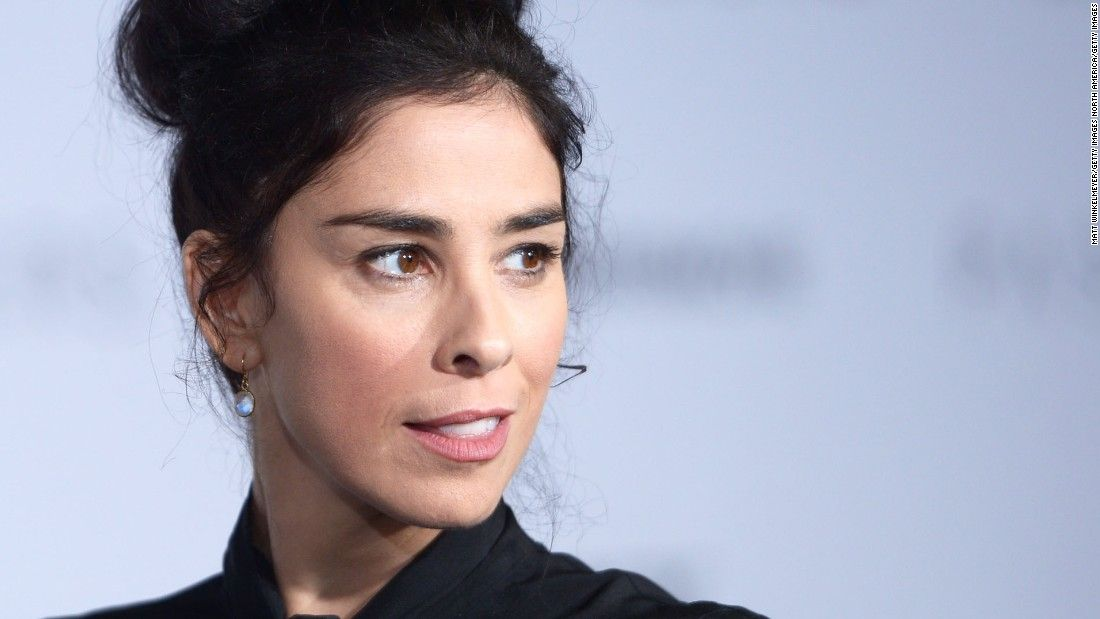 Sarah Silverman: If 'you're not political, you're complicit in the insanity'