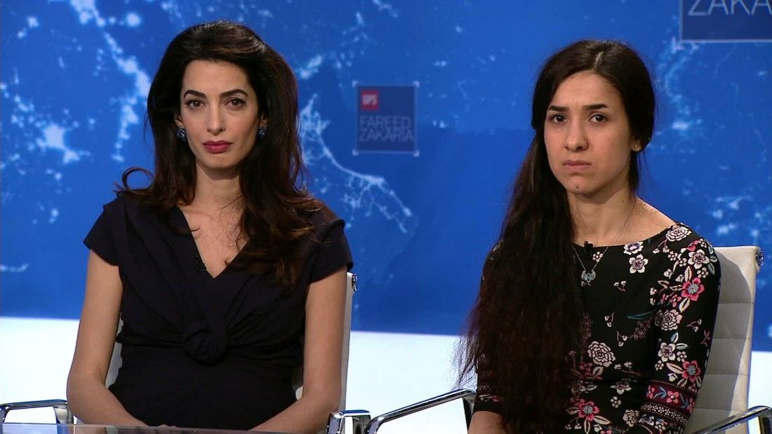 Former ISIS sex slave demands justice for Yazidis