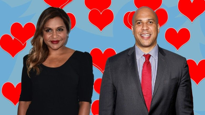 Mindy Kaling disses Sen. Cory Booker and gets a dinner date