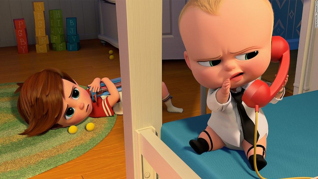 'The Boss Baby' doesn't milk enough laughs from premise