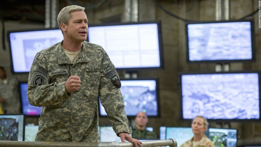 Brad Pitt's 'War Machine' fizzles on Netflix