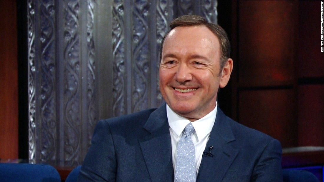 Spacey: Frank Underwood is talking to Trump