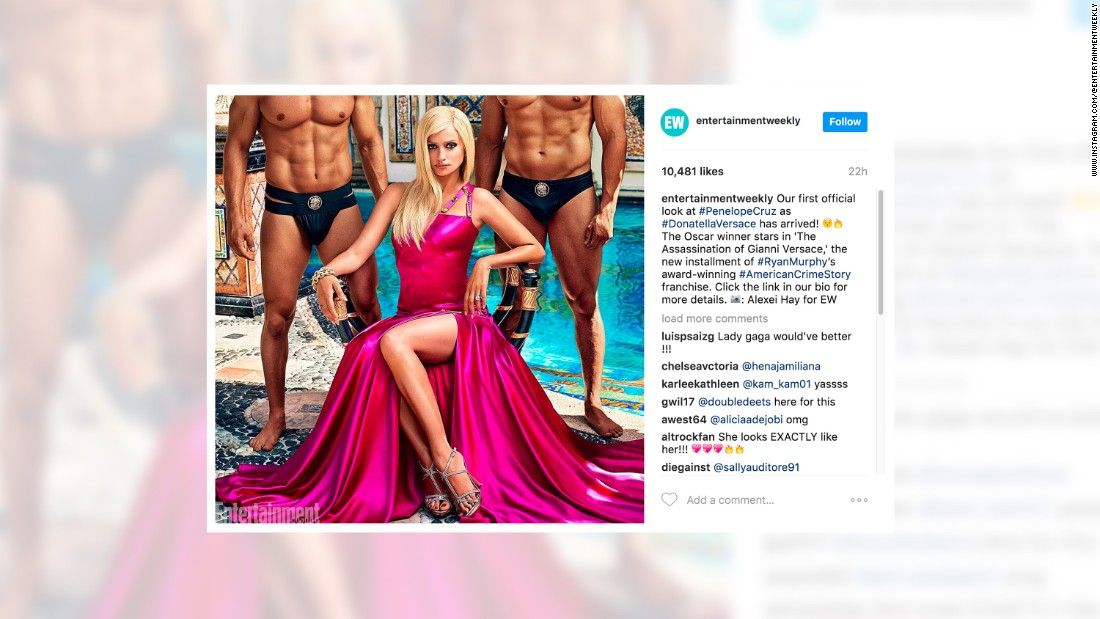 First look at Penelope Cruz as Donatella Versace in 'American Crime Story'