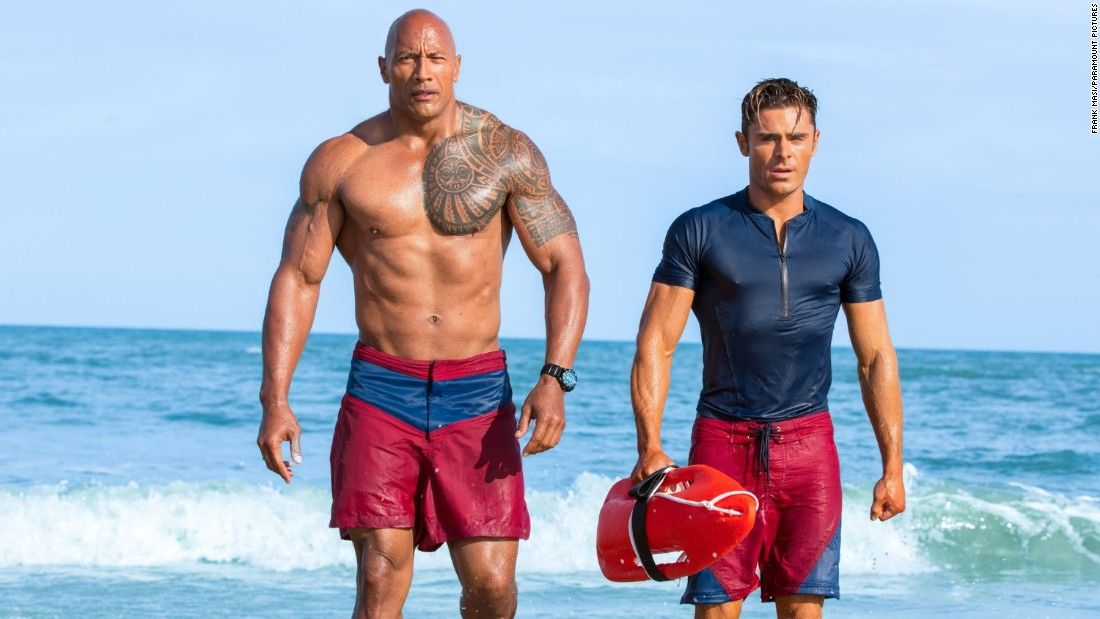 'Baywatch' movie sinks like a stone