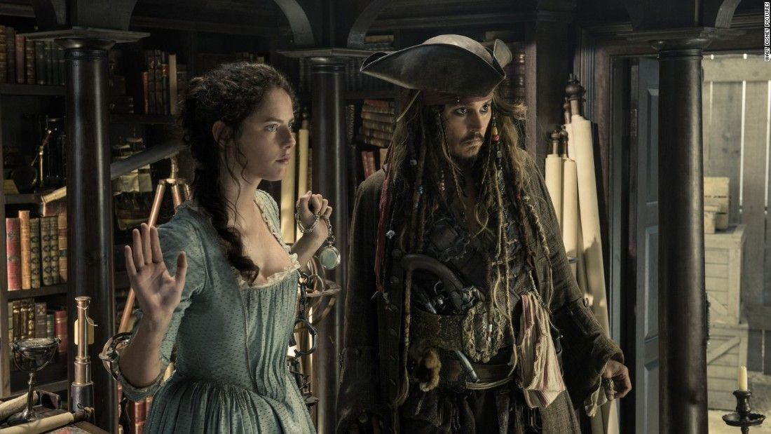 'Pirates of the Caribbean' tries to turn back time