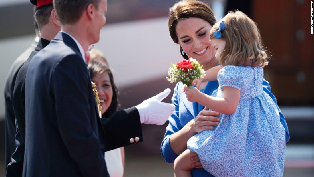 Princess Charlotte steals spotlight on royal tour in Germany