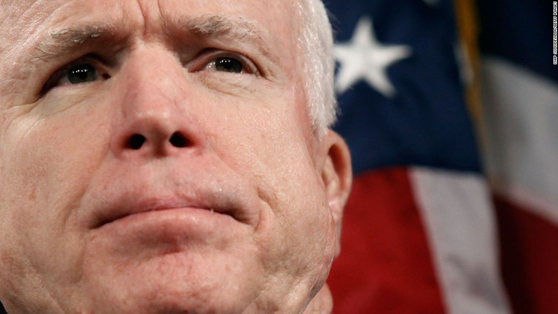 The absolutely remarkable life of John McCain