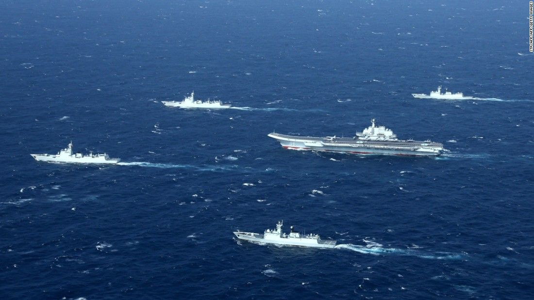 China's ambitious naval plan comes to Europe