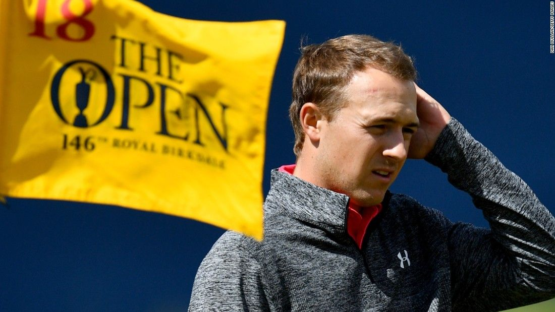British Open: Jordan Spieth channels Michael Phelps tips to lead