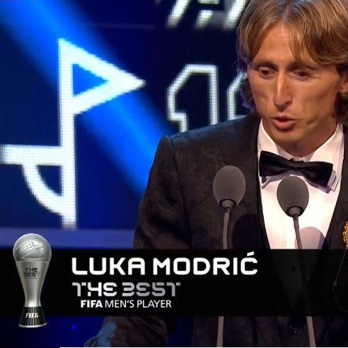 Лука Модрич е новият номер 1 в света, Меси и Роналдо не присъстваха на церемонията
