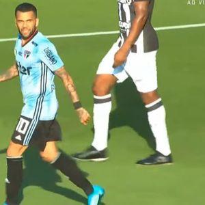 Дани Алвеш демонстрира класа с гол в дебюта си за Сао Пауло