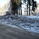 Заваля сняг на ''Петрохан''