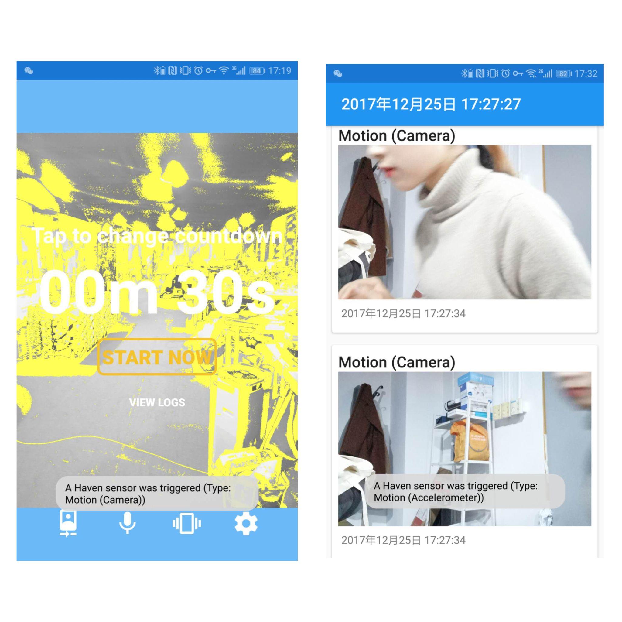 Haven – 斯诺登开发的反间谍 App,超强保护隐私。