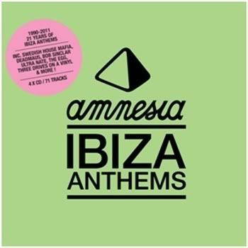 Amnesia Ibiza Anthems 1990-2011 [4CD]