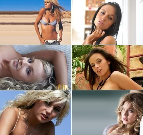 HDR Desktop Girls Wallpapers Pack 159