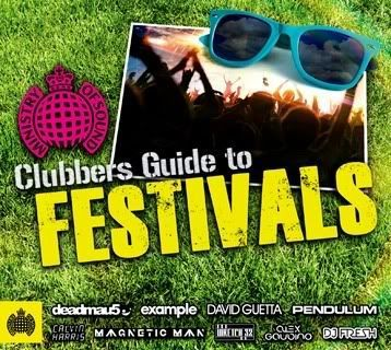 MOS Clubbers Guide To Festivals 3CD
