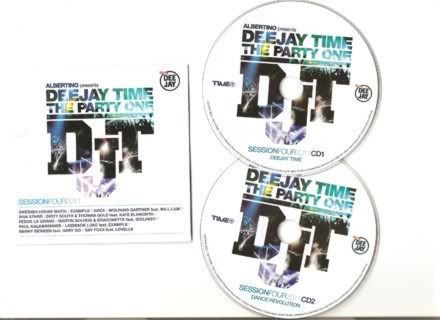 Deejay Time The Party One: Session Four 2011 [2CD] (2011)