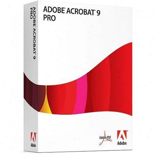 Adobe Acrobat Pro 9.0 and serial [Mac User only]
