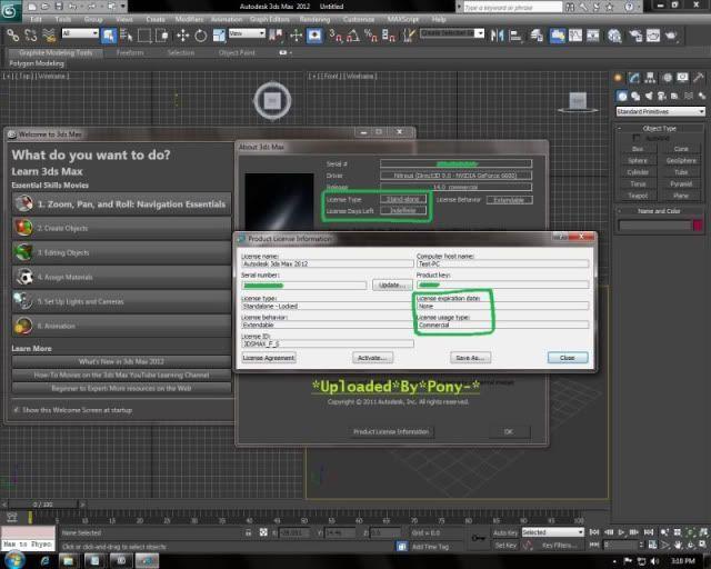 Autodesk 3DS Max 2012 (x86/x64) Active100%