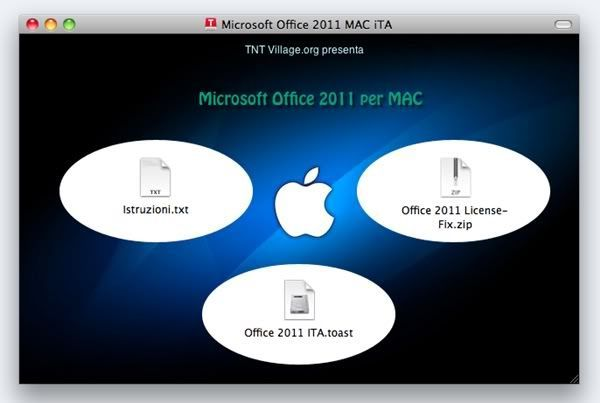 Microsoft Office 2011 SP1 14.1.0 (Activated Forever) (Italian) (Mac)