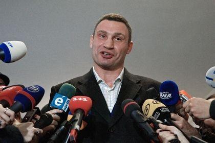 Кличко задумался об участии в президентских выборах на Украине