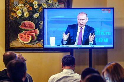 Прямую линию Путина обогатят географией и общением