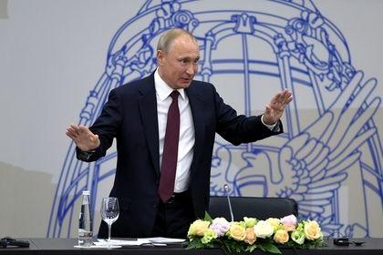 Путин предостерег Запад от перехода «красной линии» в отношениях с Россией