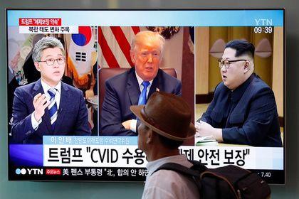 Трамп вновь решился встретиться с Ким Чен Ыном